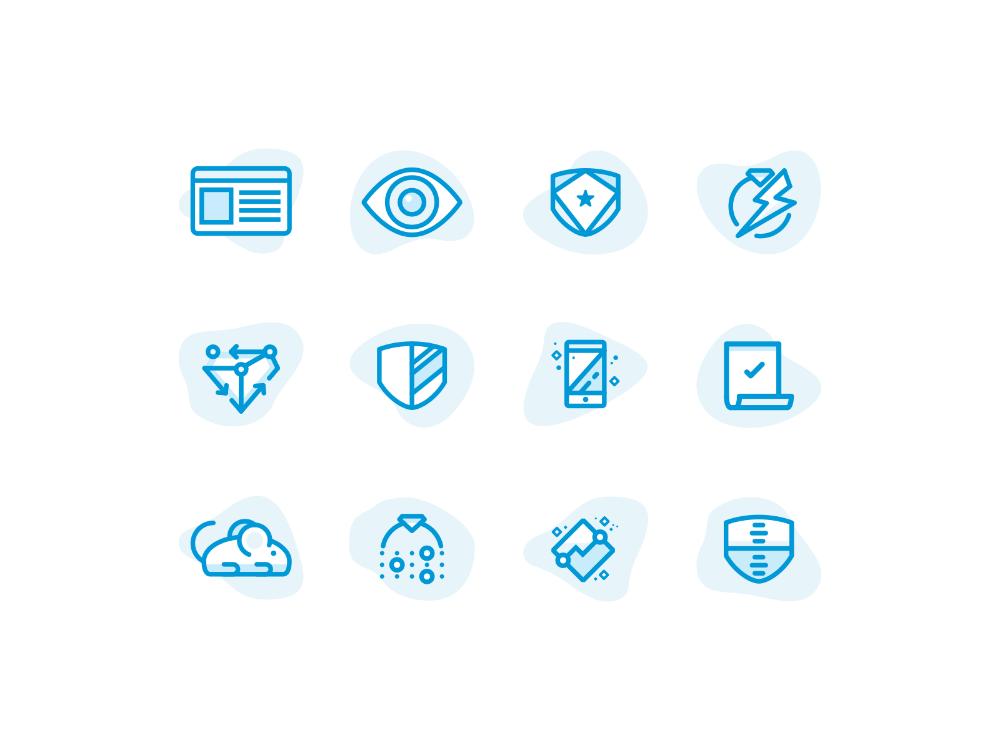 Insurance Icon Set Icon Set Design Icon Set Icon