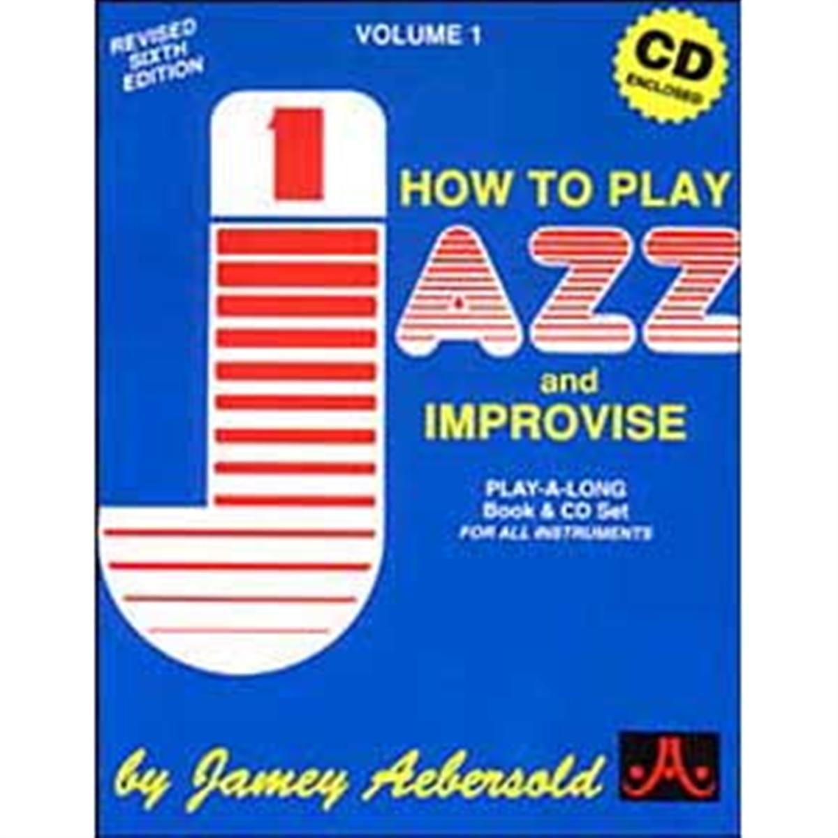 Jamey Aebersold Jazz Vol. 1 Jazz How to Play and