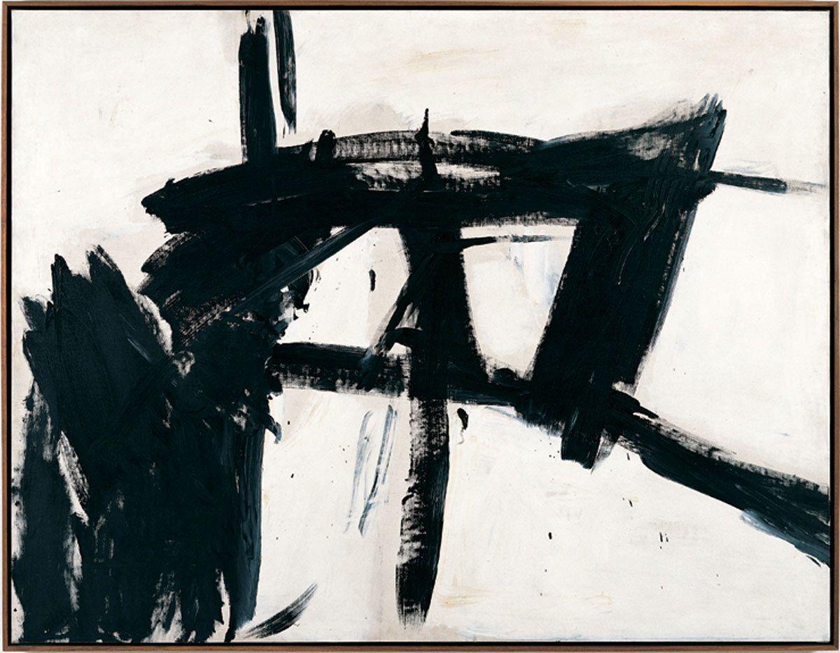 franz kline vawdavitch art franz kline  franz kline vawdavitch 1955 assault rifleabstract expressionism