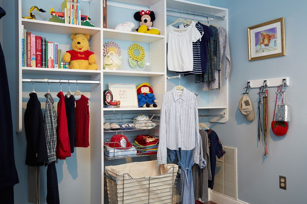 Attractive No More Messy Kidu0027s Closet With Tailored Livingu0027s Closet Systems: Help Your  Kids Keep Their Good Looking