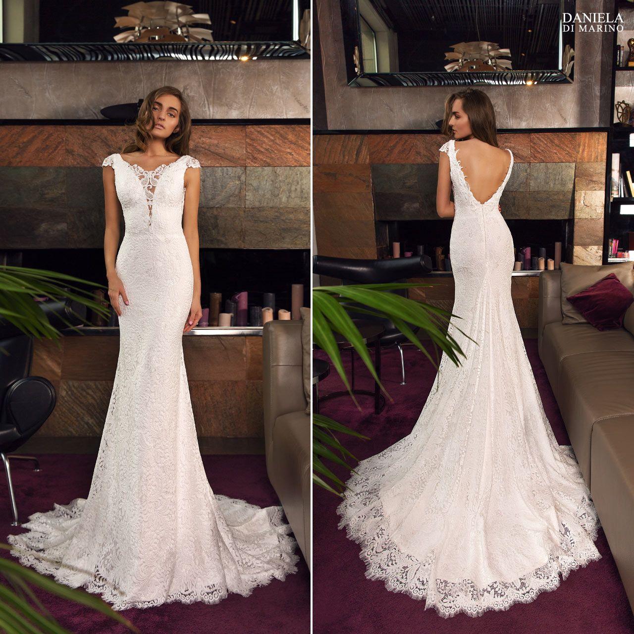 5e185fe521ac Abito da sposa della collezione Daniela Di Marino 2019 in vendita presso il negozio  Boutique Velo