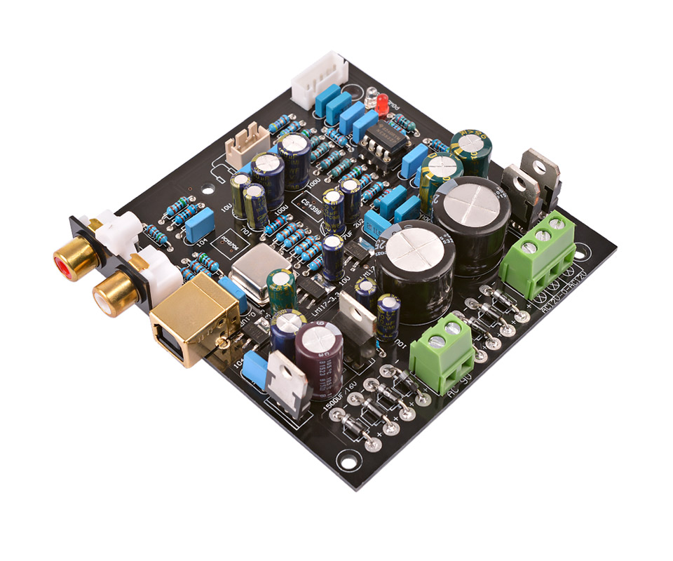 Cs4398 Pcm2706 Usb Dac Decoder Audio Decoding Usb Decoder Board Usb Audio Signal To Noise Ratio