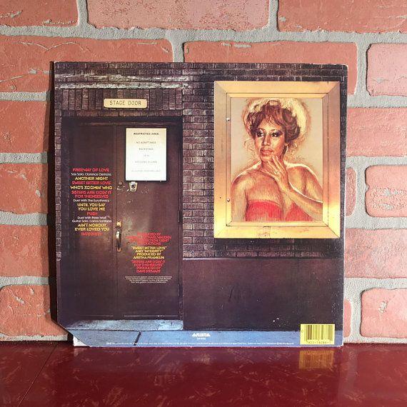 Aretha Franklin Who S Zoomin Who Vinyl Record Album Lp 1985 Soul