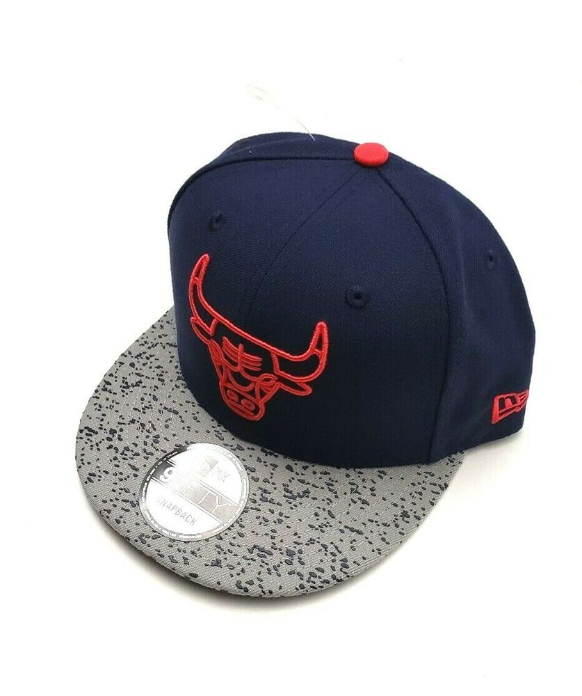 new product 569d9 233da New Era Chicago Bulls 9Fifty Life Champs Blue Red Black Gray Snapback Hat  OSFM  NewEra  ChicagoBulls