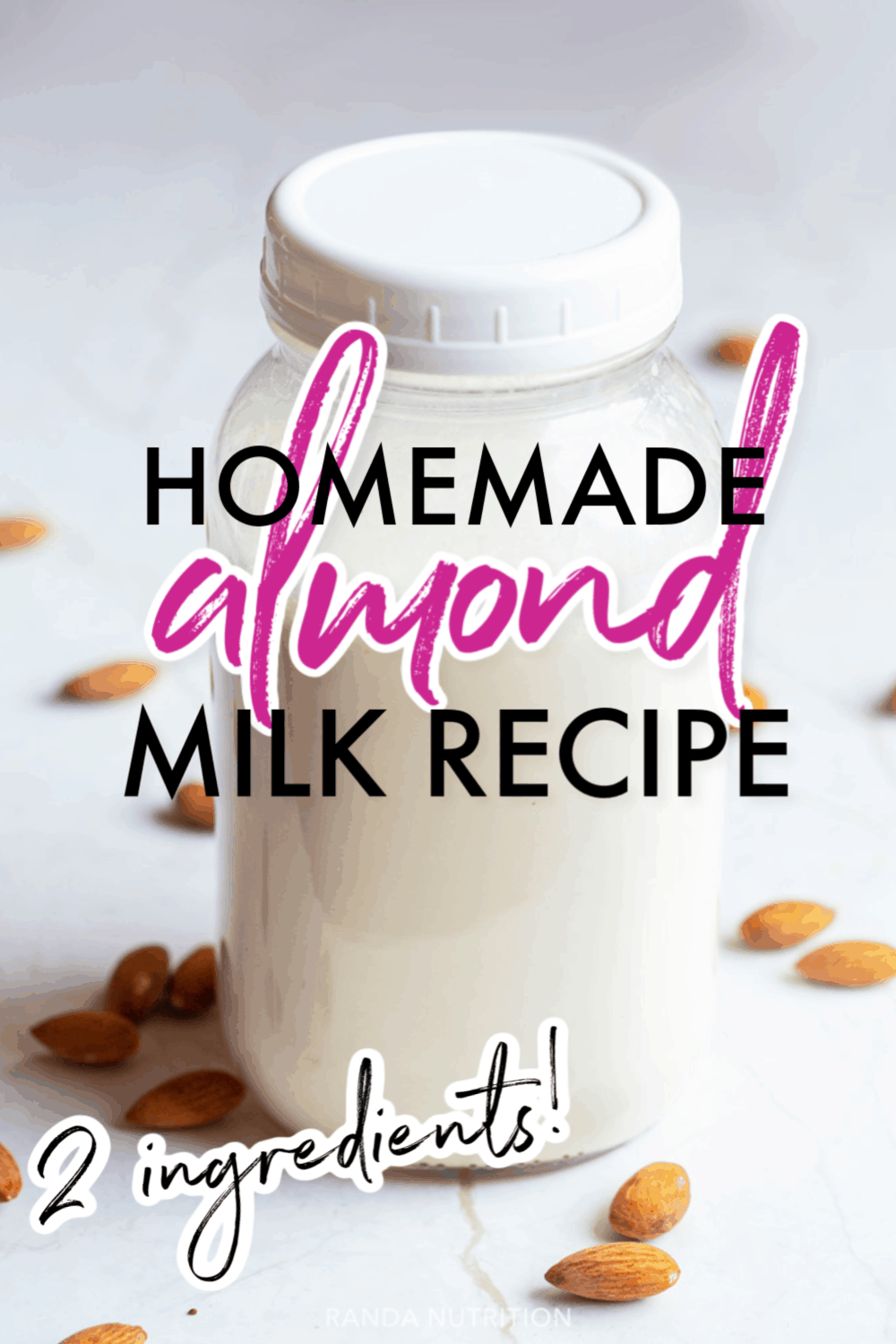 How to Make Almond Milk -   17 diet Clean Eating almond milk ideas