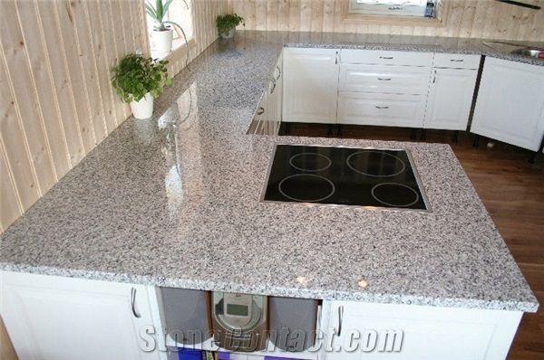 Bianco Sardo Granite Countertop