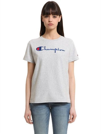 d29c8346d9c2 CHAMPION Champion Cotton Jersey T-Shirt