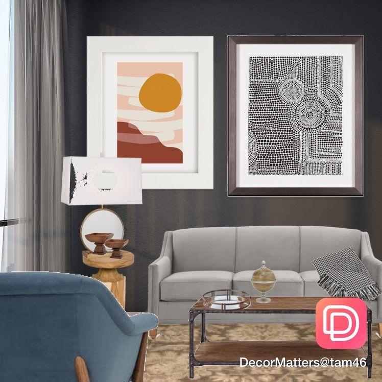 Grey Walls Living Space Interior Design Apps Room Design Dream Rooms