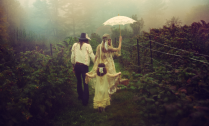 mists and parasols....