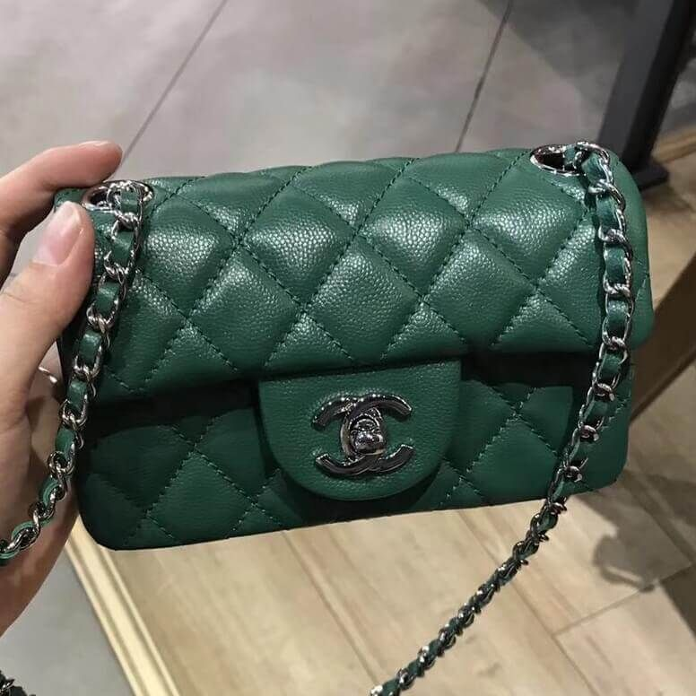 35470f95eea1 Chanel Extra Mini Classic Flap Bag 100% Authentic 80% Off | Chanel Handbags  for