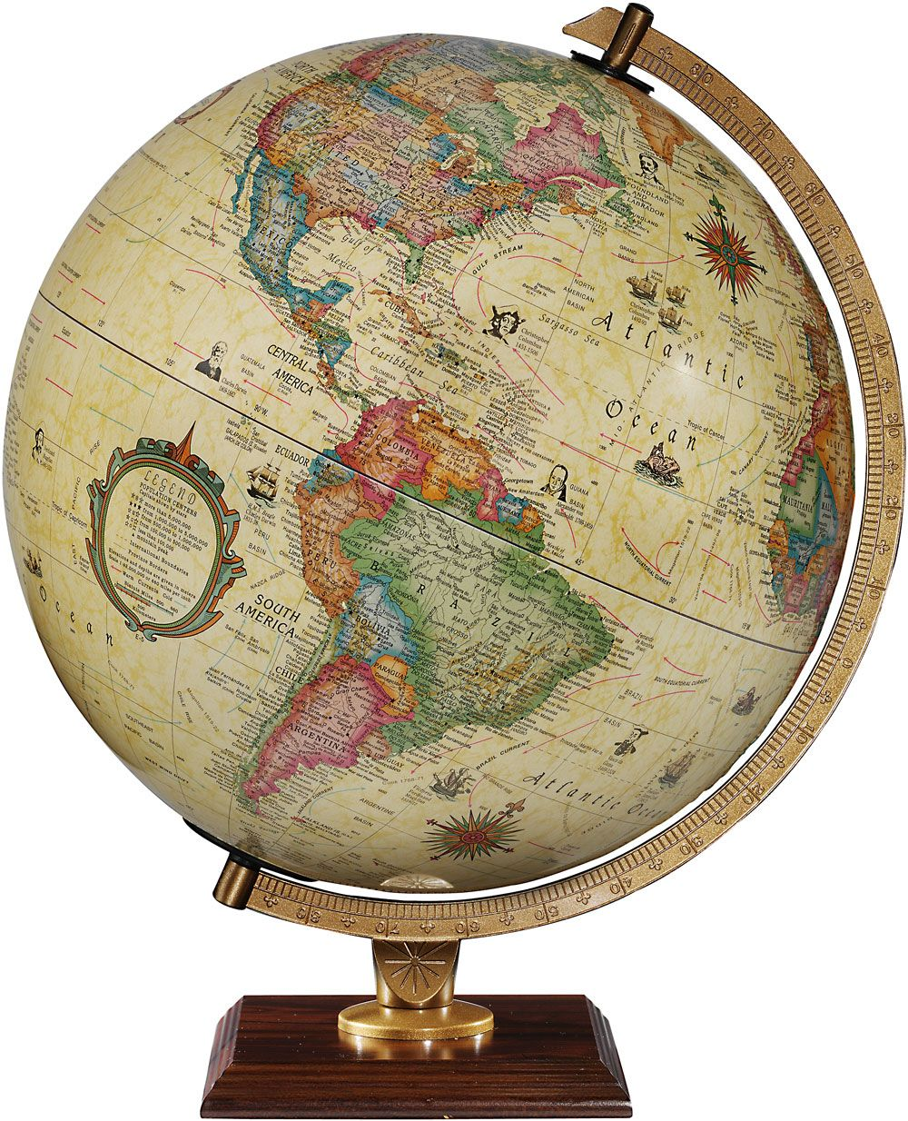 1-World Globes - The Carlyle: This globe is pretty awesome! It's raised - 1-World Globes - The Carlyle: This Globe Is Pretty Awesome! It's