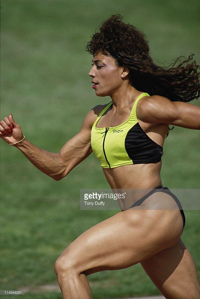 Florence Griffith Joyner, weight training 1984 | Back-N-Da\' Day ...