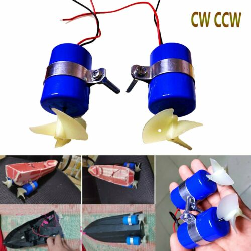 DIY Micro ROV Robot RC Jet Motor Jet Engine 3-12V 3-blades