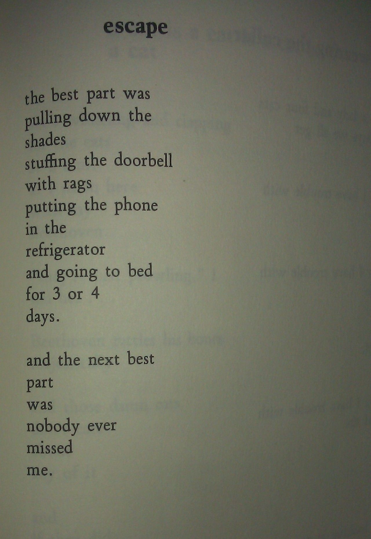 Charles Bukowski  That is exactly how I died of a broken
