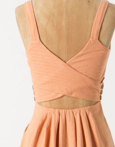 yet another anthro dress that fuels my obsession with back details