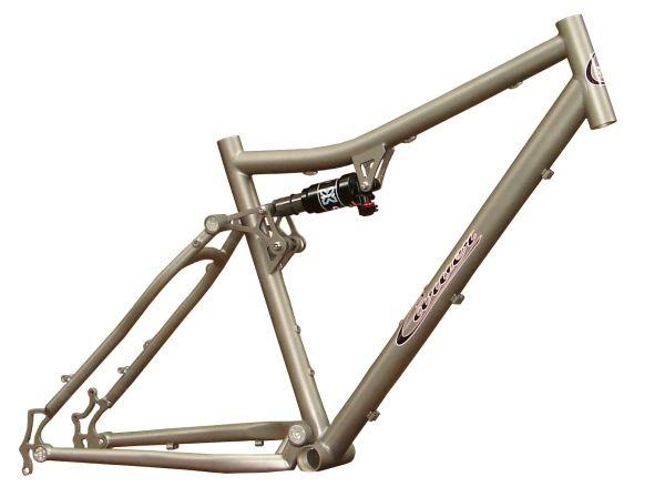 Carver Bikes Trans-Fat Full Suspension Fatbike Frame | bike ...