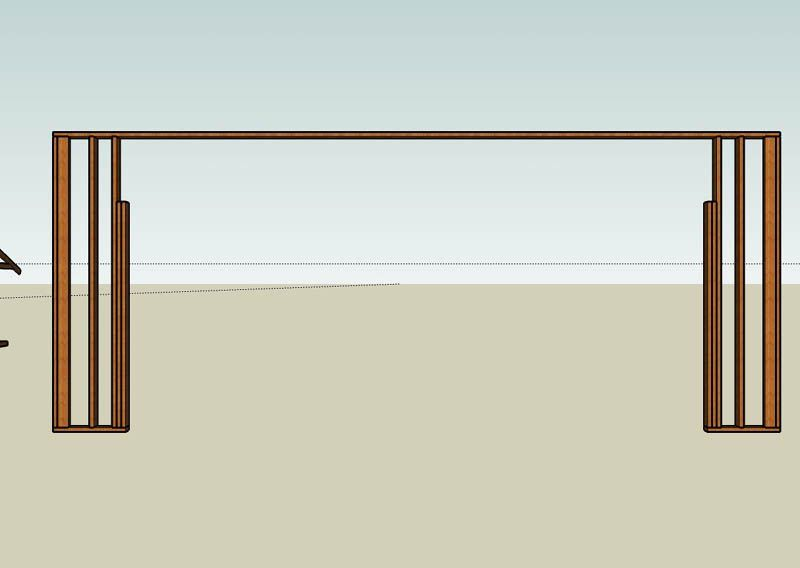 Pin On Building Different Types Of Garage Wood And Concrete Block