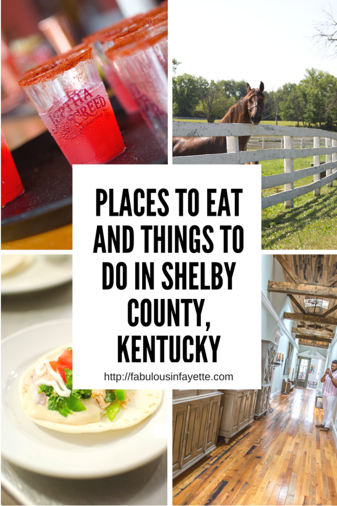 Places To Eat and Things to Do in Shelby County, Kentucky