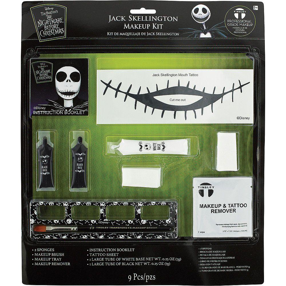 Jack Skellington Makeup Kit The Nightmare Before