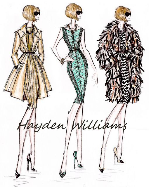 a516fd8dc08 Fashion Elite collection: Anna Wintour by Hayden Williams | Women ...