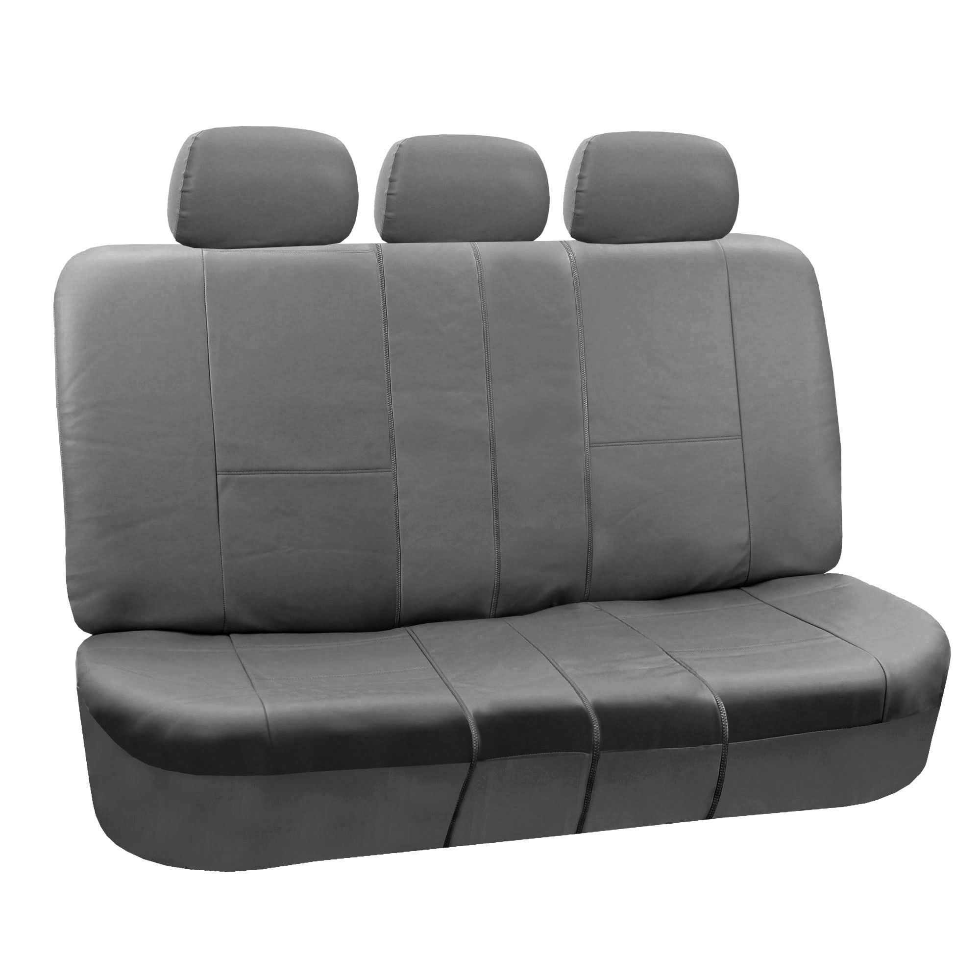 Amazing Fh Group Pu Split Bench Auto Seat Covers Products Gamerscity Chair Design For Home Gamerscityorg