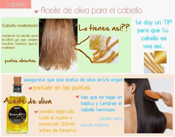 sitio autorizado gran venta diseño atemporal Remedios caseros con aceite de oliva para el cabello ...