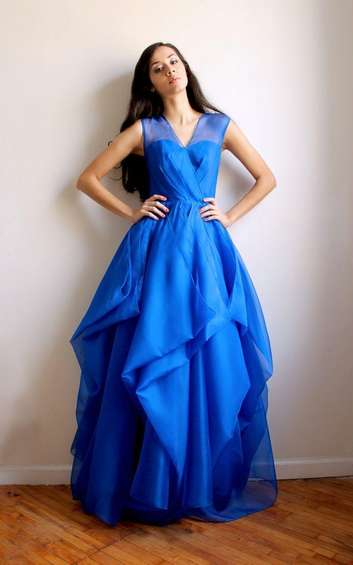 unique bridesmaid dresses your ladies will love royal blue