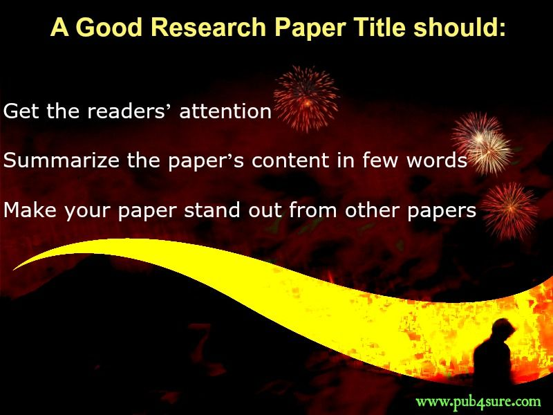 How To Write A Great Research Paper All Tips You Need  PubSure