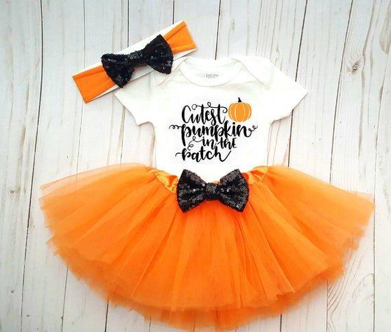 fall tutu set,orange and gold tutu set,pumpkin patch princess tutu outfit,orange tutu,girl,baby,infant clothing Pumpkin Patch tutu outfit