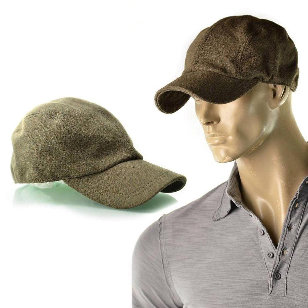 7e73367f8219c Diesel Hat Mens Cimetal Wool Blend Hunter Lid Hats Cap Size 2 Medium NEW  Olive  Diesel  BaseballCap