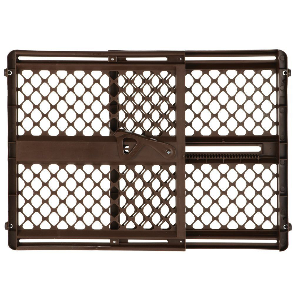 "Includes sockets for extra or North States 42/"" Wide Supergate Ergo Baby Gate"