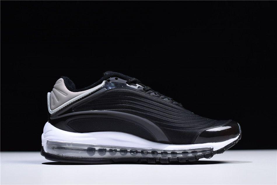 03e043de72 2018 Nike Air Max 99 Deluxe TPU Black/White-Grey Shoes AJ7831-001 ...