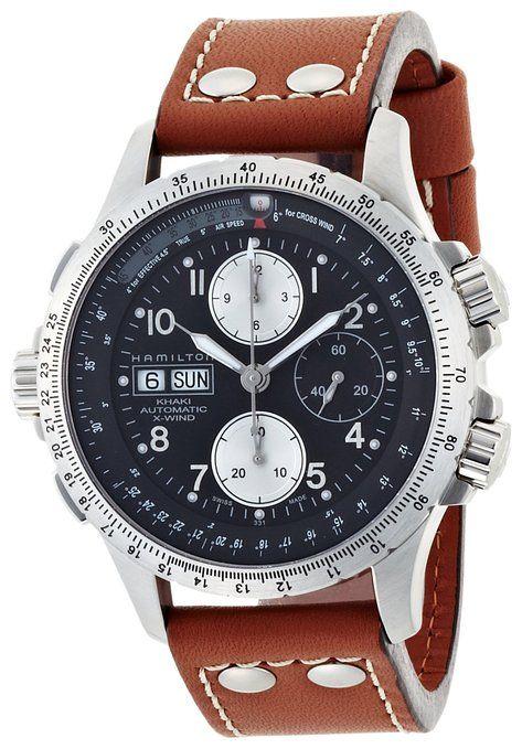 033ca295d Hamilton Khaki H77616533 Men's watch Aviation Watch: Amazon.co.uk: Watches