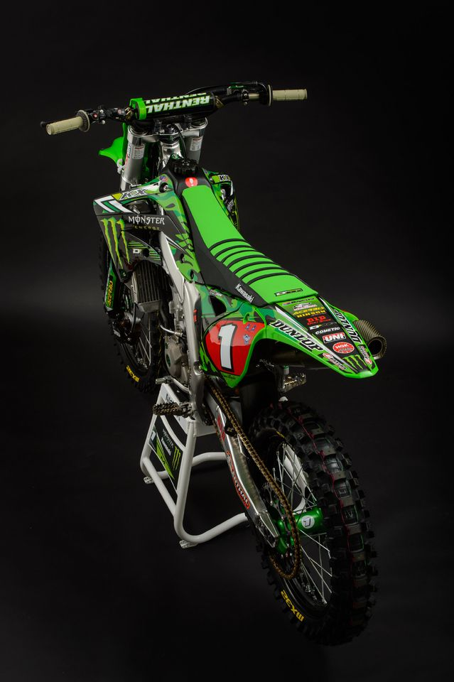 Monster Energy Kawasaki Райана Виллопото   Dirt Bikes ...