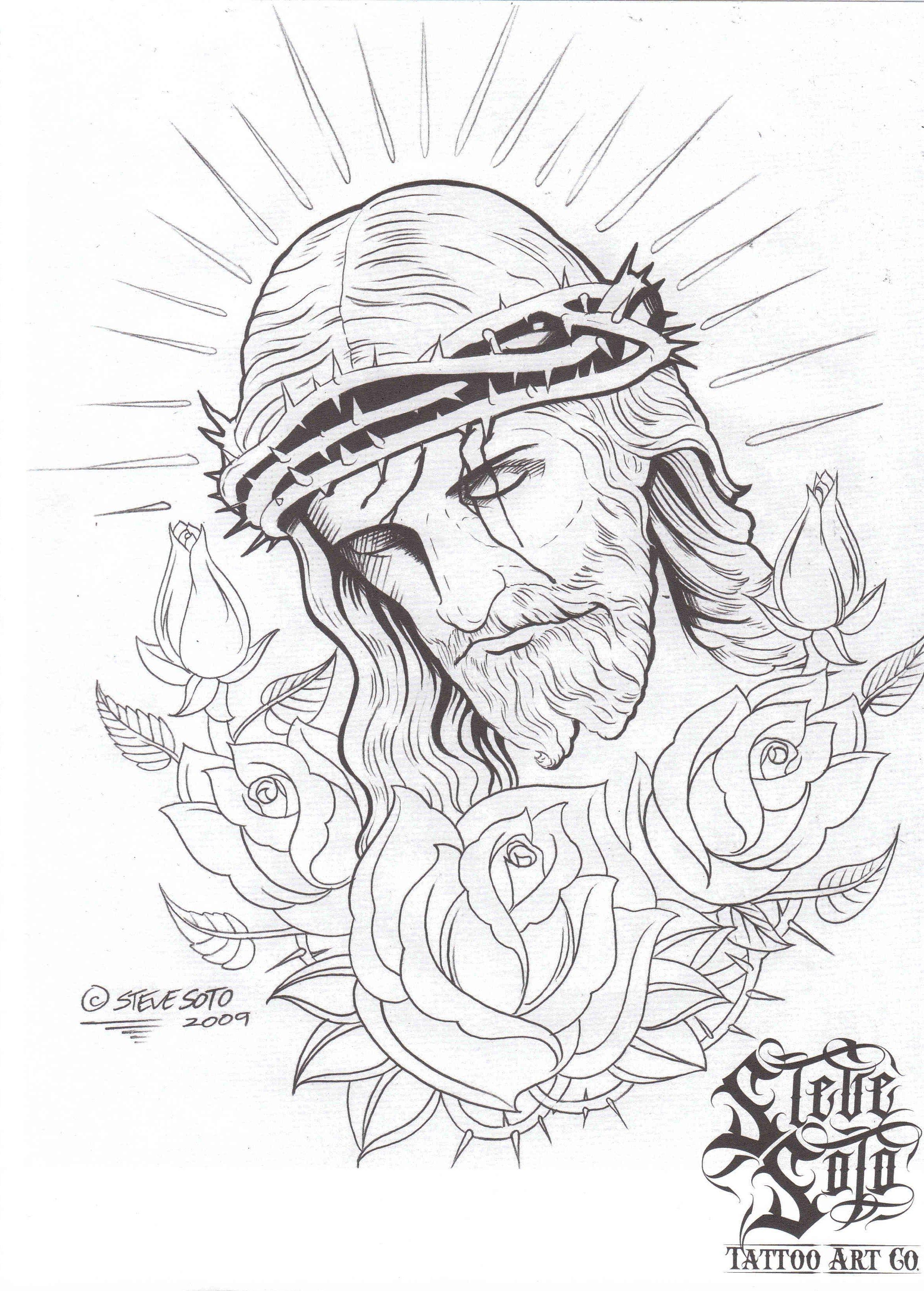 Jesus Tattoo Best Tattoo Ideas Gallery Tatuaje De Jesús Dibujos De Diseño De Tatuajes Tatuaje De Cristo