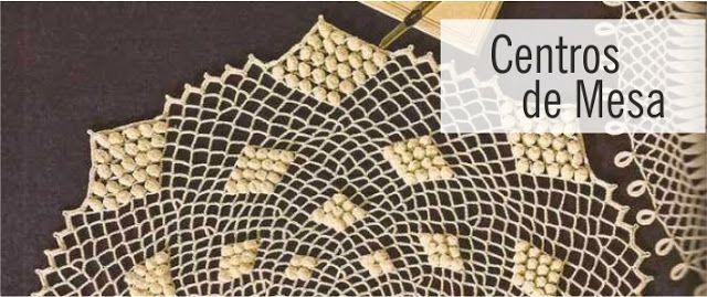 Centros de Mesa a Crochet