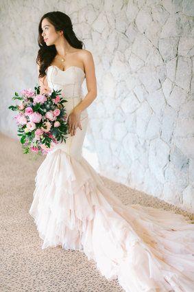 Saab Magalona And Jim Bacarro S Wedding Photos Bride