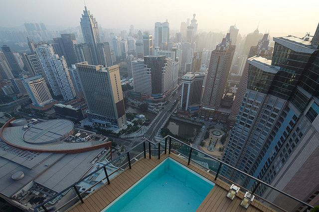 Fancy An Early Morning Dip Outdoor Sitting Area Rooftop Pool Duplex Penthouse
