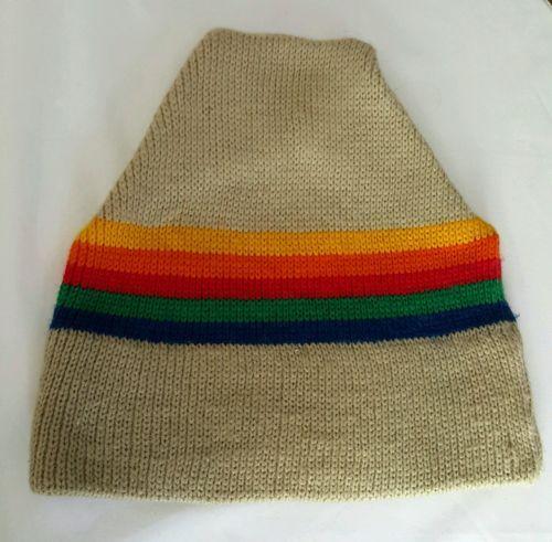 370d10cedf5 Vintage Ski Hat Cap 100% Wool Snowboard Minnetonka Marceau Sports ...