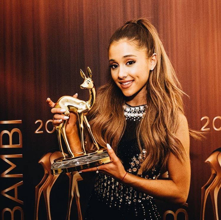 Ariana Grande At The Bambi Awards 2014 With Images