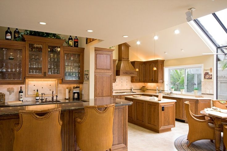 Open Kitchens for Entertaining & Everyday « Burgin Construction Inc.