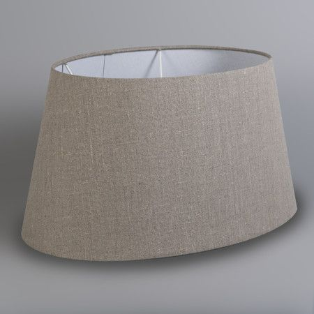 QAZQA Modern Leinen Leinen Lampenschirm wei/ß 50//40//26 Rund konisch Schirm Stehleuchte