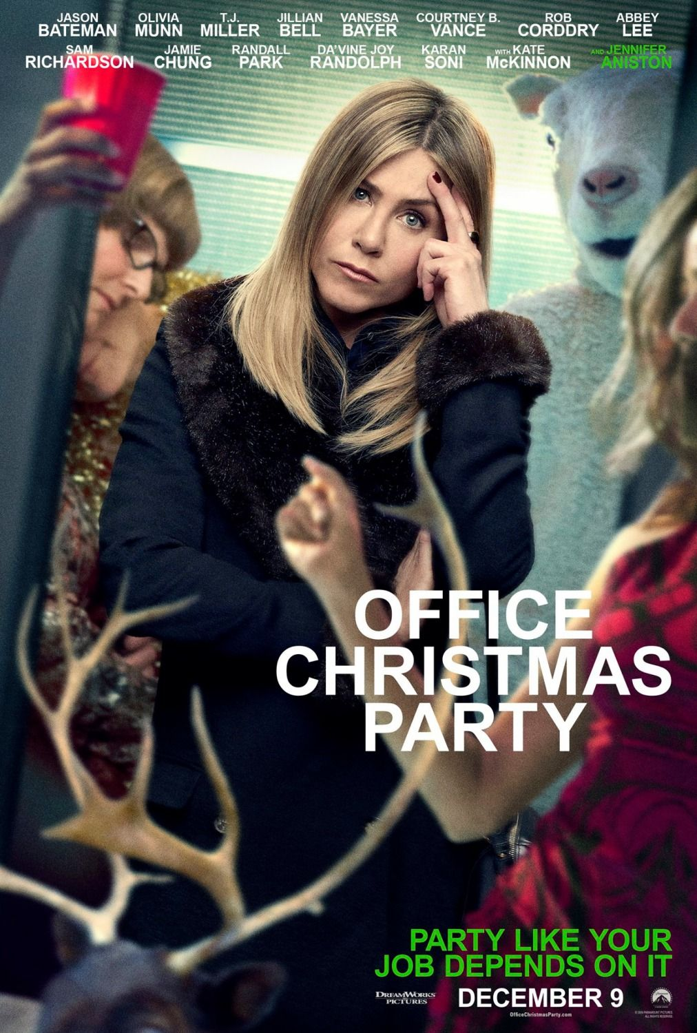 Office Christmas Party Jennifer Aniston Poster | Posters ...