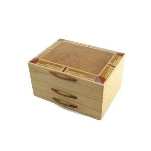 Heartwood Creations Mission Style Jewelry Box For the Home