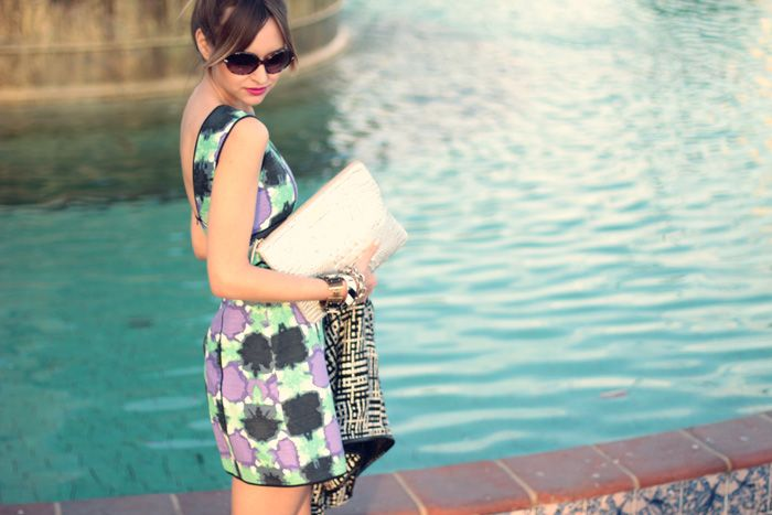 Perfect Tibi dress from Late Afternoon blog