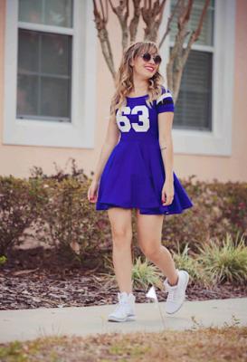 Vestidos para gorditas con tenis