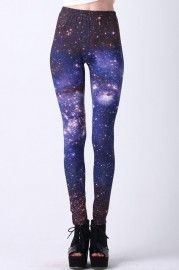 Starry Night Print Leggings  $26.24