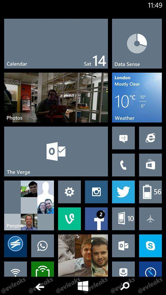 Technews Filtrado Windows Phone 8.1 revela nuevos botones
