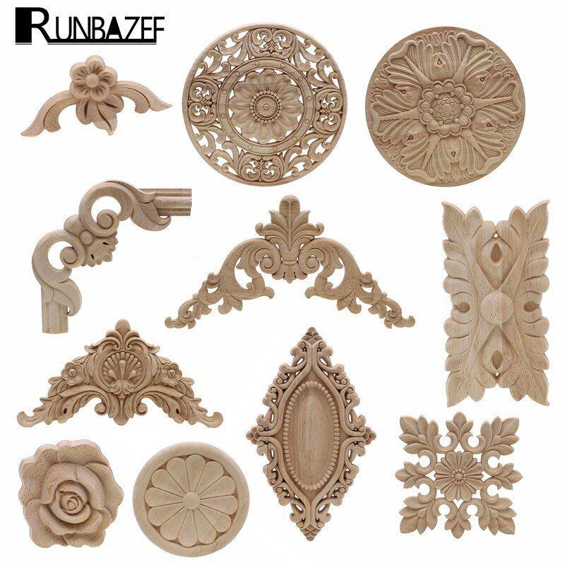 US $ 0.62 33% OFF   Frame door cabinet decorative figurines …