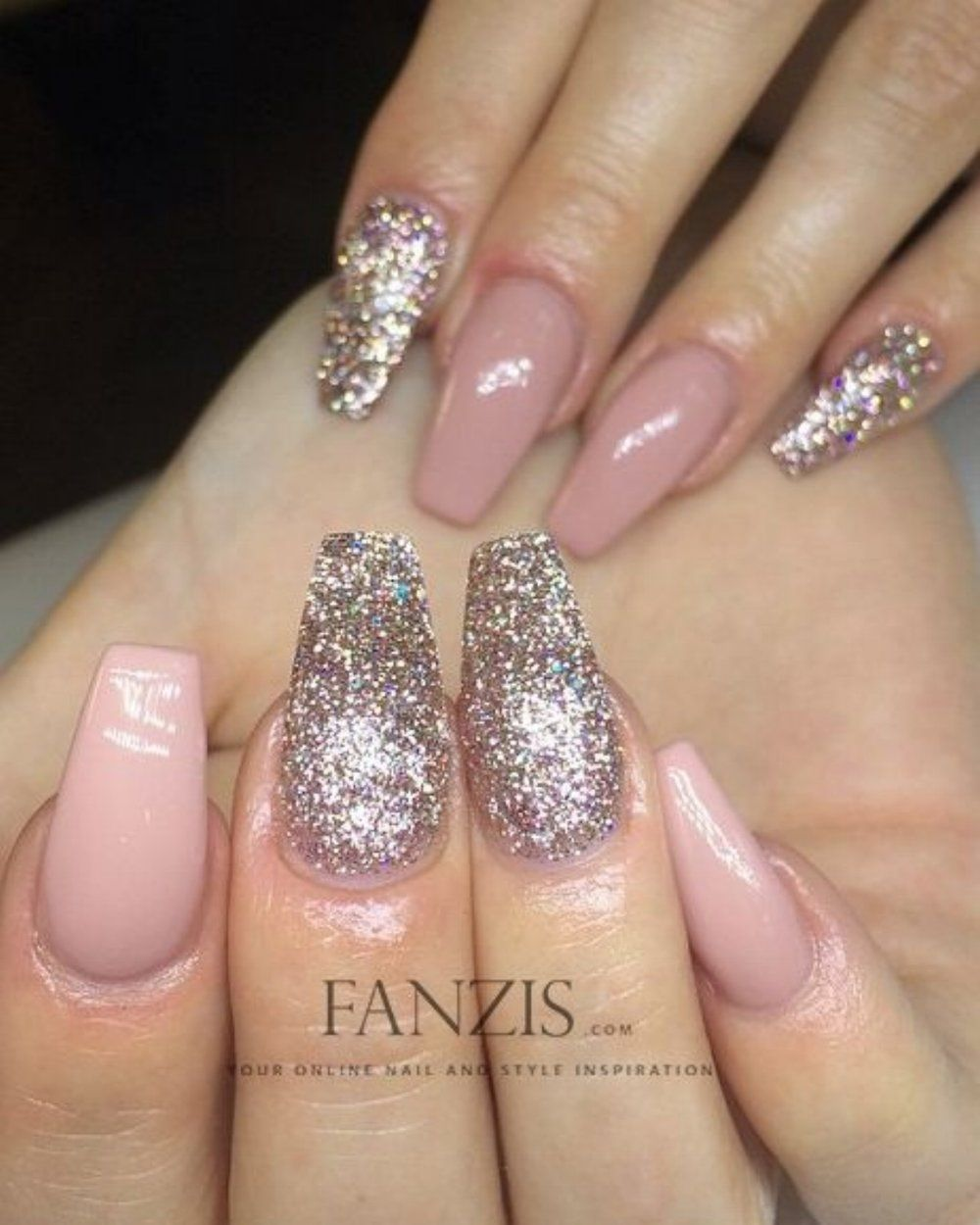 💅🏻 101 Trending Pink Nail Art & Polish Color Ideas | Nail trends ...